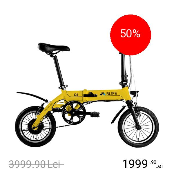 NEWBITS Blife Q1 Bicicleta Electrica Hybrid Pliabila