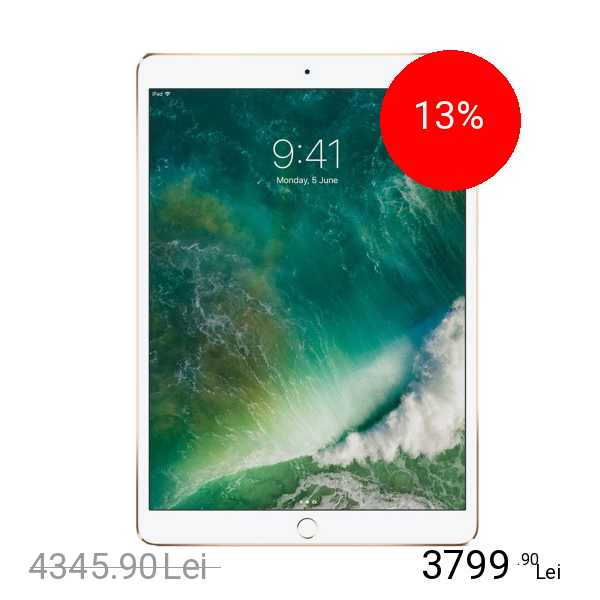 Imagine indisponibila pentru Apple IPad PRO 12.9 2017 64GB LTE 4G Auriu