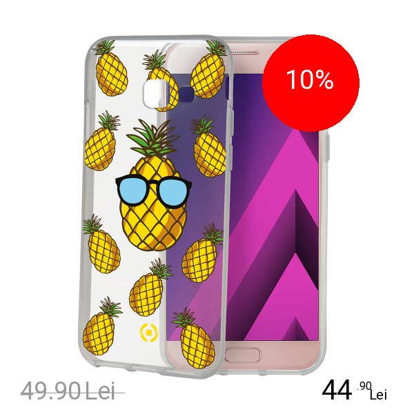 Celly Husa Capac Spate Pineapple SAMSUNG Galaxy A3 2017