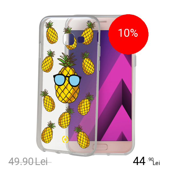 Celly Husa Capac Spate Pineapple SAMSUNG Galaxy A5 2017