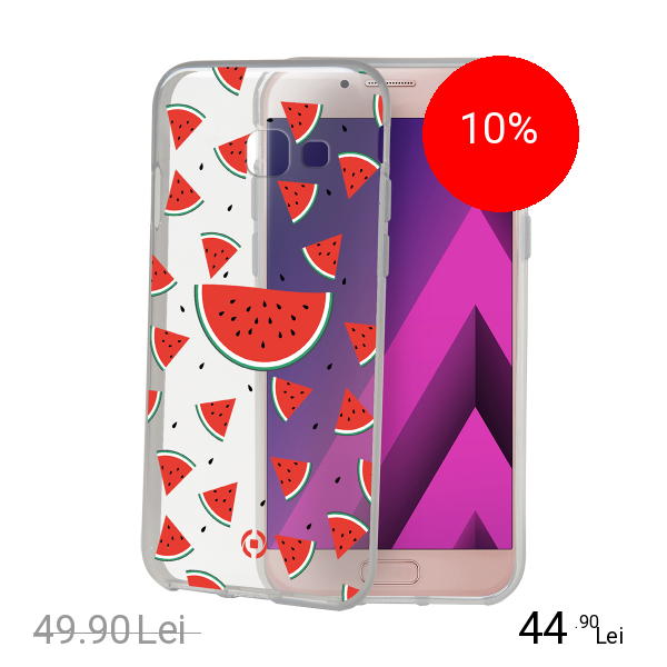 Celly Husa Capac Spate Watermellon SAMSUNG Galaxy A5 2017