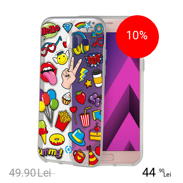 Celly Husa Capac Spate Teen Iconic SAMSUNG Galaxy A5 2017