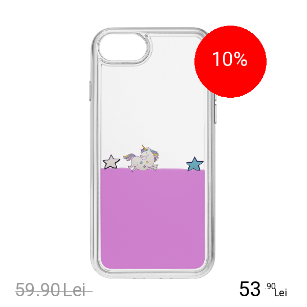 Cellularline Husa Capac Spate Violet Apple iPhone 7, iPhone 8