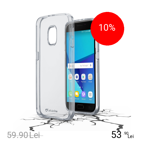 Cellularline Husa Capac Spate Transparent SAMSUNG Galaxy J5 2017