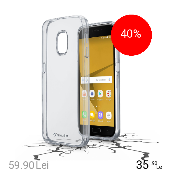 Cellularline Husa Capac Spate Transparent SAMSUNG Galaxy J7 2017