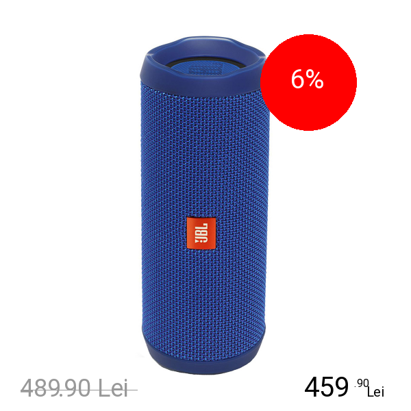 JBL Boxa Portabila Flip 4 Wireless Albastru