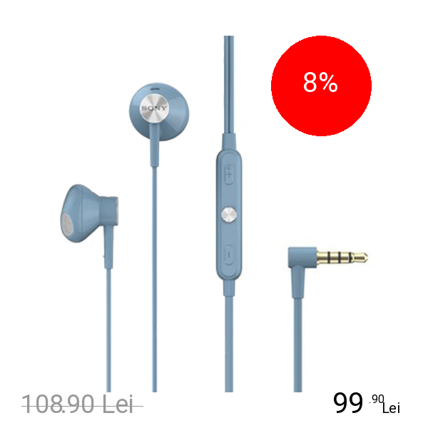 Imagine indisponibila pentru SONY Casti Audio Stereo Albastru