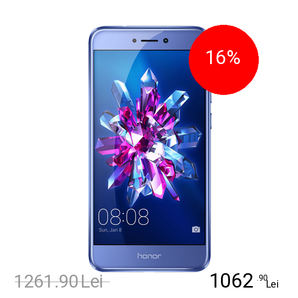 Huawei P8 Lite 2017 Dual Sim 64GB LTE 4G Albastru 4GB RAM