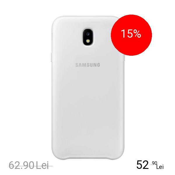 Samsung Husa Capac Spate Dual Layer Alb SAMSUNG Galaxy J3 2017
