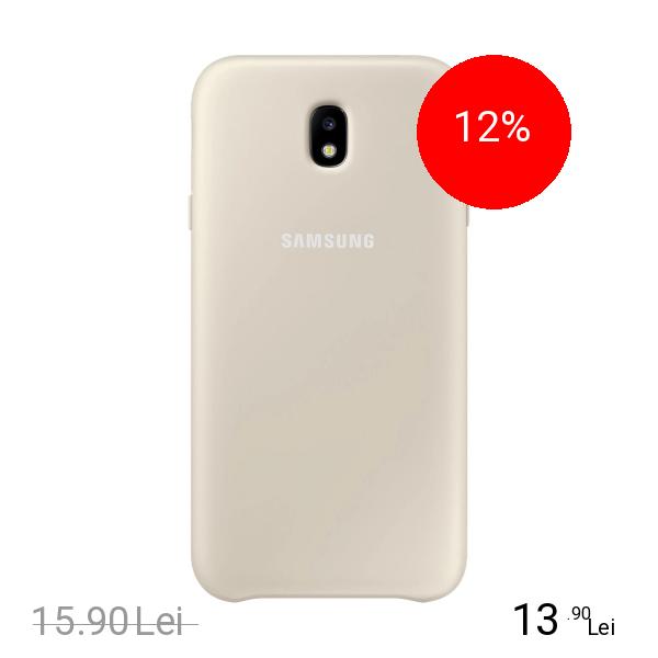 Samsung Husa Capac Spate Dual Layer Auriu SAMSUNG Galaxy J7 2017