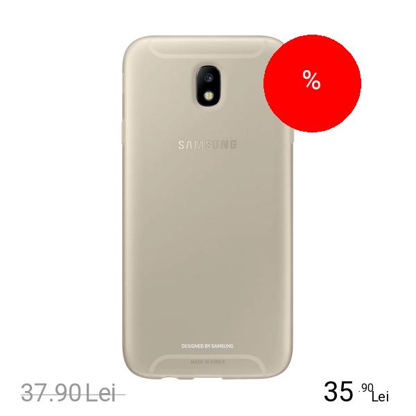Samsung Husa Capac Spate Jelly Auriu SAMSUNG Galaxy J7 2017