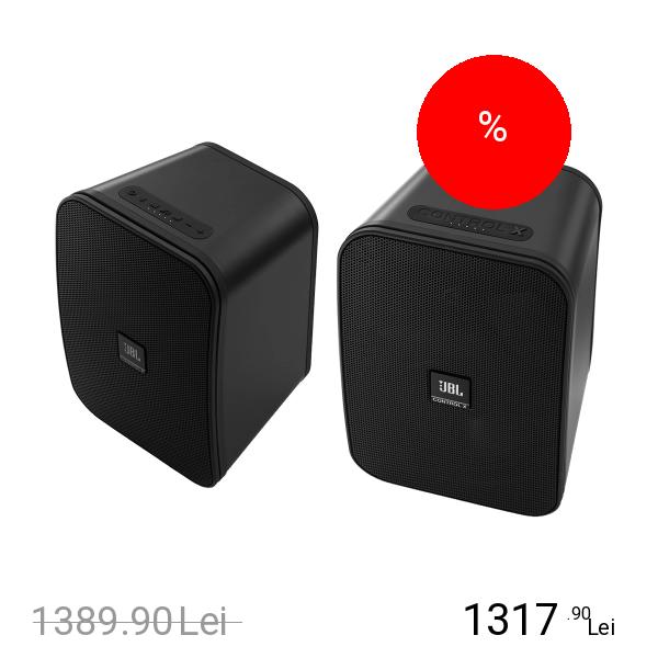 JBL Boxa Wireless Control X Pentru Exterior Negru