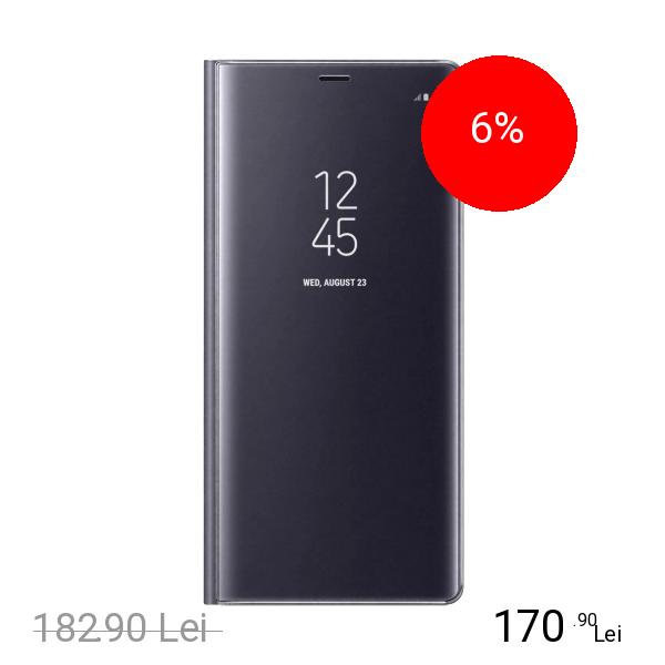 Samsung Husa Agenda Clear View Gri SAMSUNG Galaxy Note 8