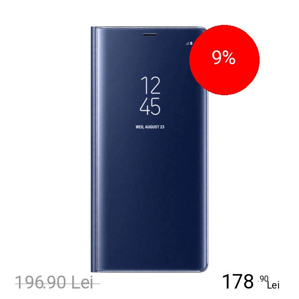 Samsung Husa Agenda Clear View Albastru SAMSUNG Galaxy Note 8