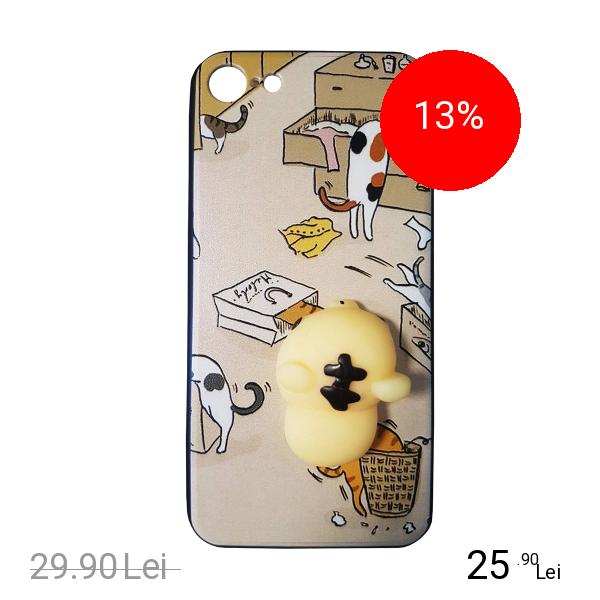 STAR Husa Capac Spate Squishy Design 9 Apple iPhone 7, iPhone 8