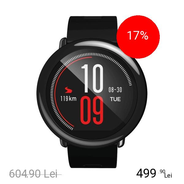 Xiaomi Smartwatch Mi Amazfit Pace Negru