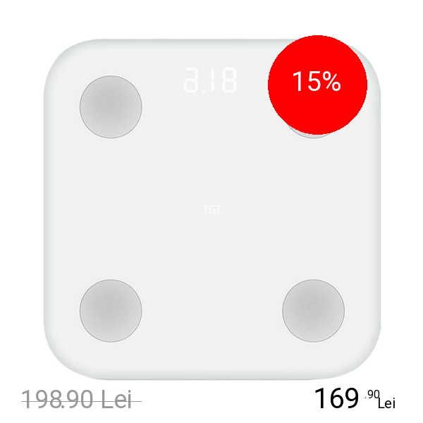 Imagine indisponibila pentru XIAOMI Cantar Mi Body Fat