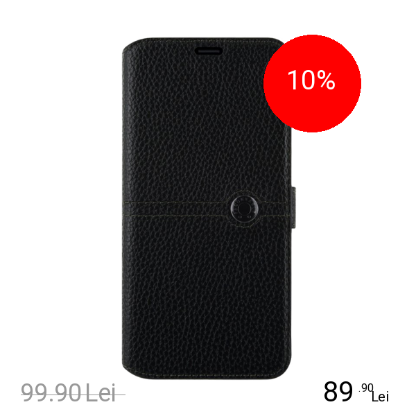 FACONNABLE Husa Agenda Negru SAMSUNG Galaxy S8 Plus