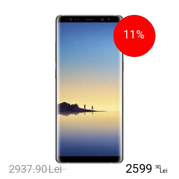 Samsung Galaxy Note 8 Dual Sim 64GB LTE 4G Auriu 6GB RAM