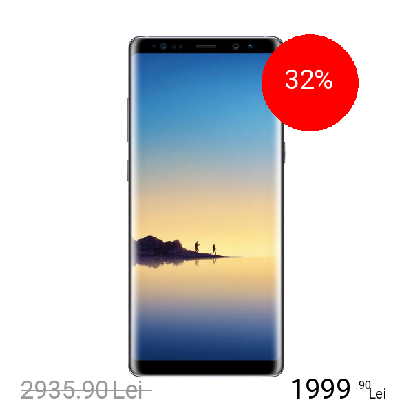 Samsung Galaxy Note 8 Dual Sim 64GB LTE 4G Gri 6GB RAM