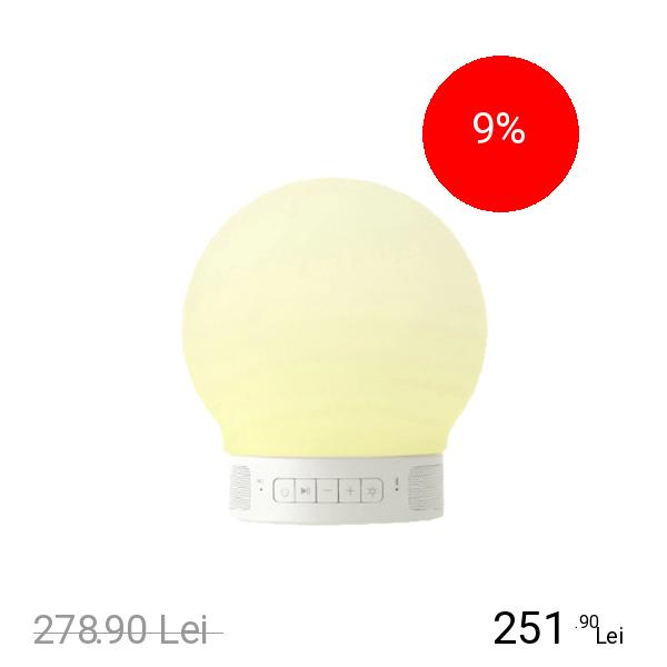 EMOI Lampa Plus Smart Led Cu Touch Si Boxa Bluetooth
