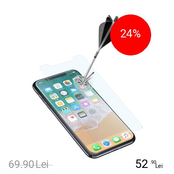 Cellularline Sticla Securizata Clasica APPLE iPhone X