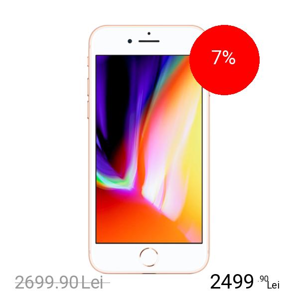 Apple IPhone 8 Plus 64GB LTE 4G Auriu 3GB RAM