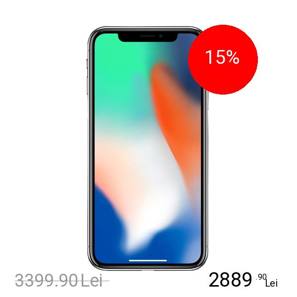 Apple IPhone X 64GB LTE 4G Argintiu 3GB