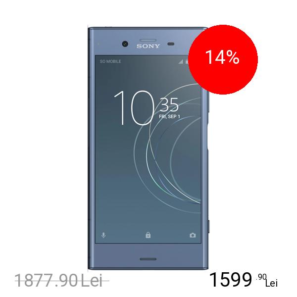 Sony Xperia XZ1 Dual Sim 64GB LTE 4G Albastru 4GB RAM