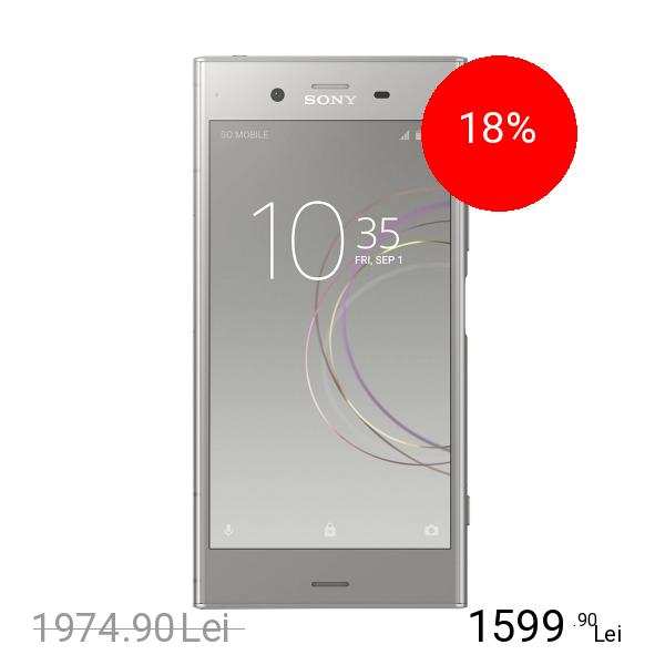 Sony Xperia XZ1 Dual Sim 64GB LTE 4G Argintiu 4GB RAM