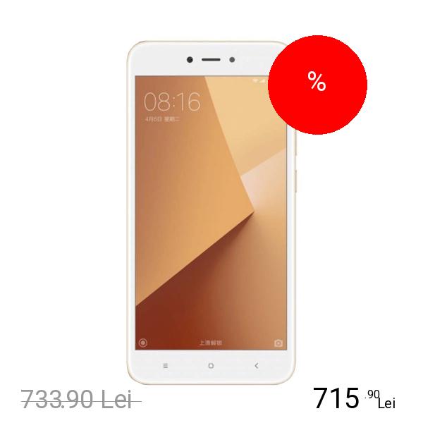 Xiaomi Redmi Note 5A Dual Sim 32GB LTE 4G Auriu 3GB RAM