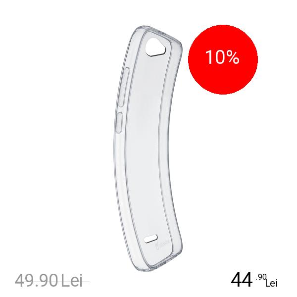Cellularline Husa Capac Spate Soft LG Q6