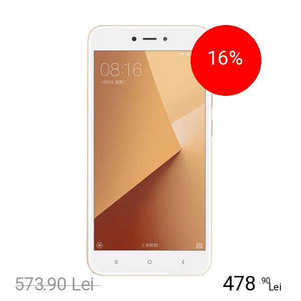 Xiaomi Redmi Note 5A Dual Sim 16GB LTE 4G Auriu