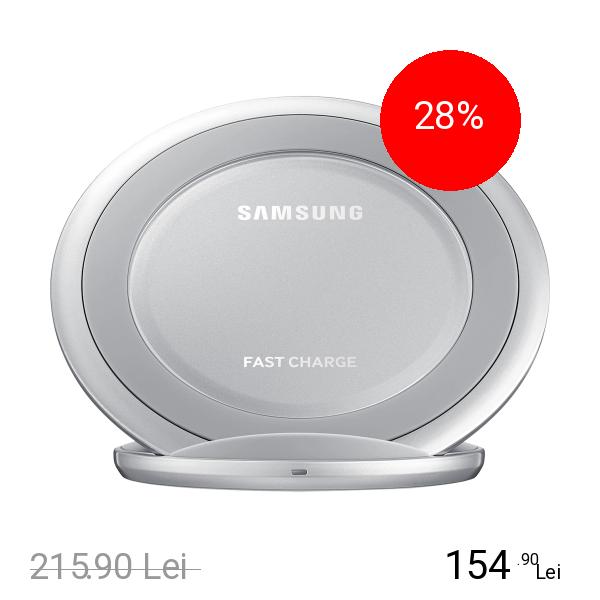 Imagine indisponibila pentru SAMSUNG Incarcator Wireless Argintiu