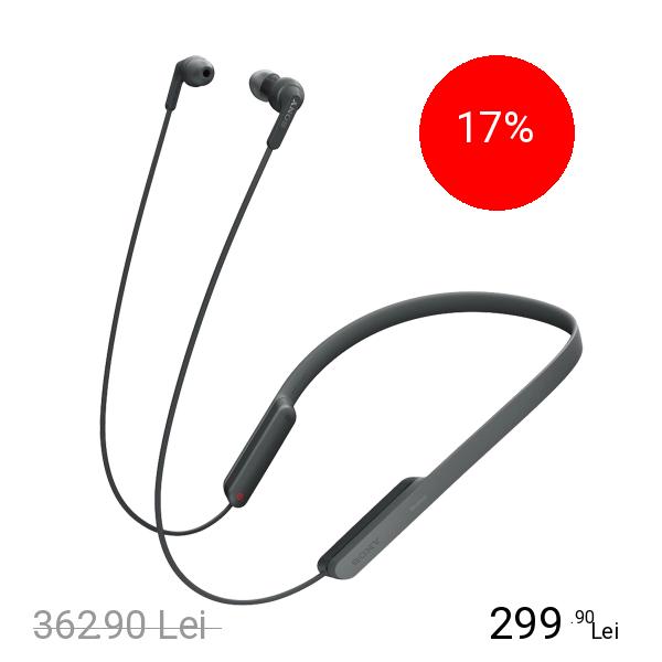 Imagine indisponibila pentru Sony Casti Audio Wireless Extra Bass Negru