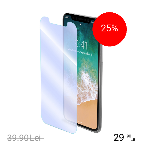Celly Sticla Securizata Clasica APPLE iPhone X