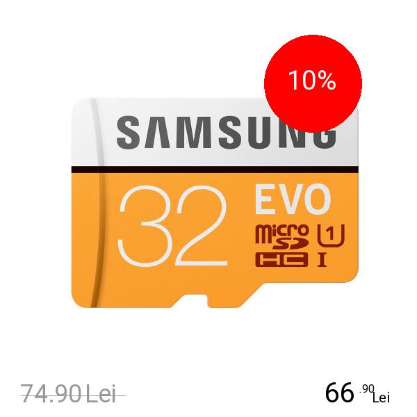 Samsung Card Memorie Evo Micro SDXC 32GB