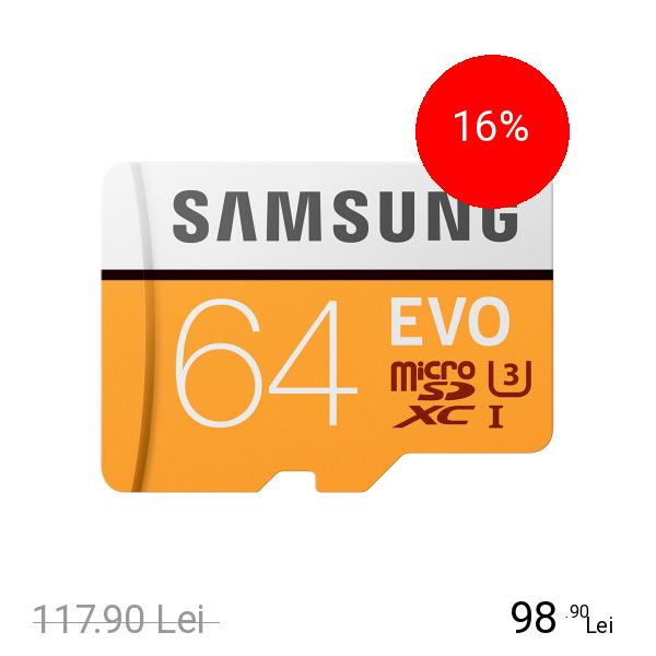 Samsung Card Memorie Micro SDXC 64GB