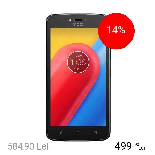 Motorola Moto C Plus 16GB LTE 4G Negru