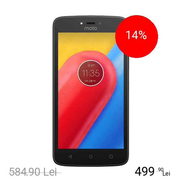 Motorola Moto C Plus 16GB LTE 4G Alb