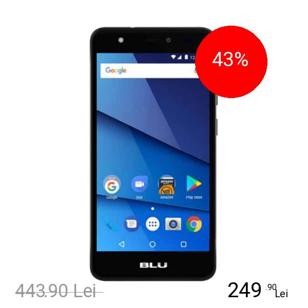 BLU Studio J8 Dual Sim 8GB LTE 4G Negru 1GB RAM