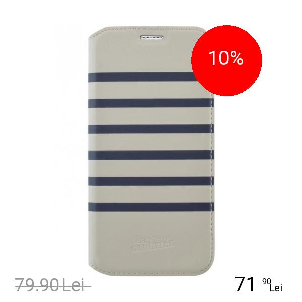 Jean Paul Gaultier Husa Agenda Navy Albastru Samsung Galaxy S7