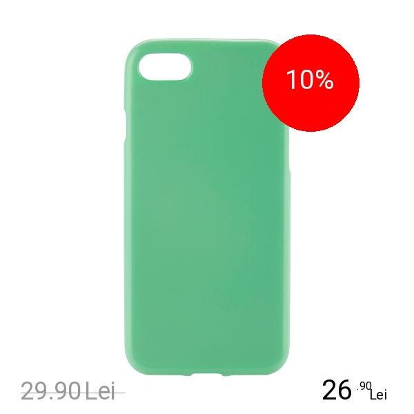 STAR Husa Capac Spate Jelly Verde Apple iPhone 7, iPhone 8