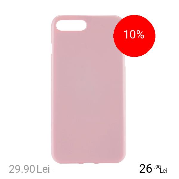 STAR Husa Capac Spate Jelly Roz Apple iPhone 7 Plus, iPhone 8 Plus