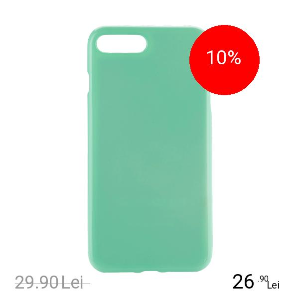 STAR Husa Capac Spate Jelly Verde Apple iPhone 7 Plus, iPhone 8 Plus