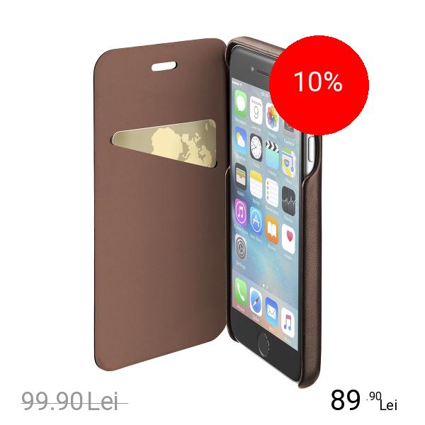 Cellularline Husa Agenda Piele Maro APPLE iPhone 6, iPhone 6S