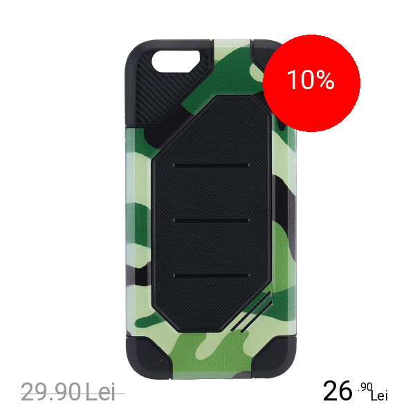 STAR Husa Capac Spate Defender Army Verde APPLE iPhone 6, iPhone 6S