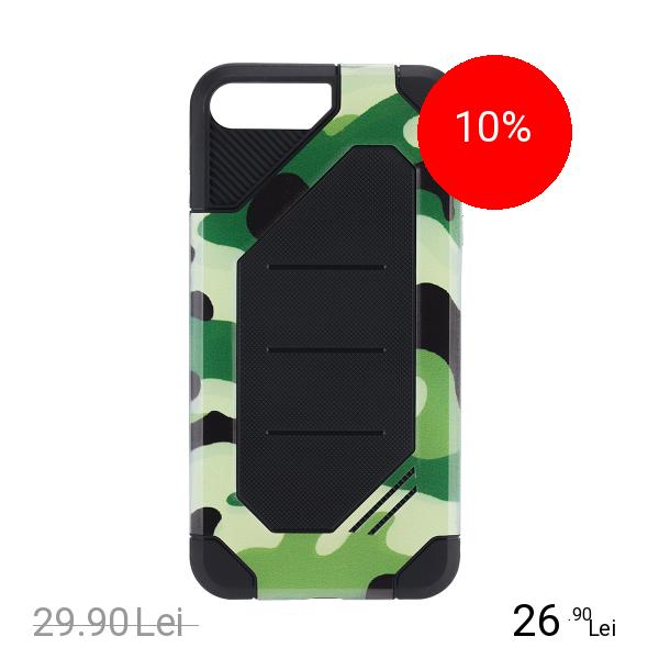 STAR Husa Capac Spate Defender Army Verde Apple iPhone 7 Plus, iPhone 8 Plus