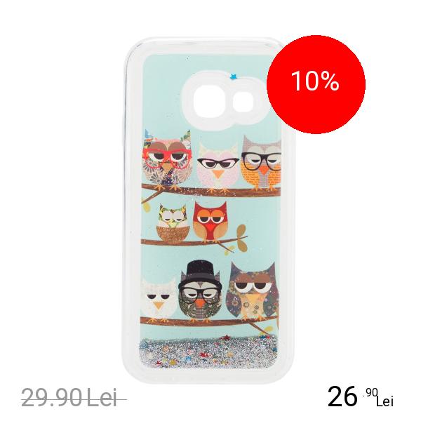 STAR Husa Capac Spate Glitter Owl 4 SAMSUNG Galaxy A3 2017