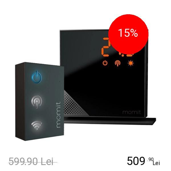 MOMIT Termostat Inteligent Wireless Pure Starter Kit
